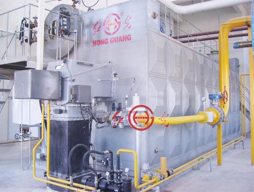 全膜式水冷壁密封结构     水管锅炉采用全膜式水冷壁结构